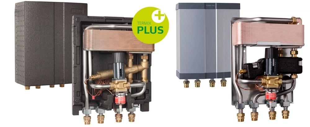 Modernistisk Fjernvarmeunit med veksler – Vakuum produkter til industrielt udstyr YU26